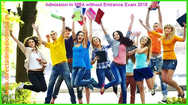 Admission in MBA without Entrance Exam