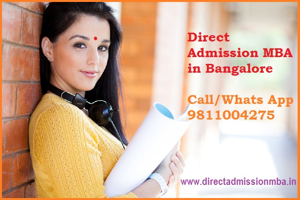Direct Admission MBA in bangalore