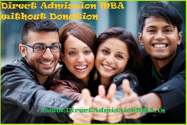 Direct Admission MBA without Donation